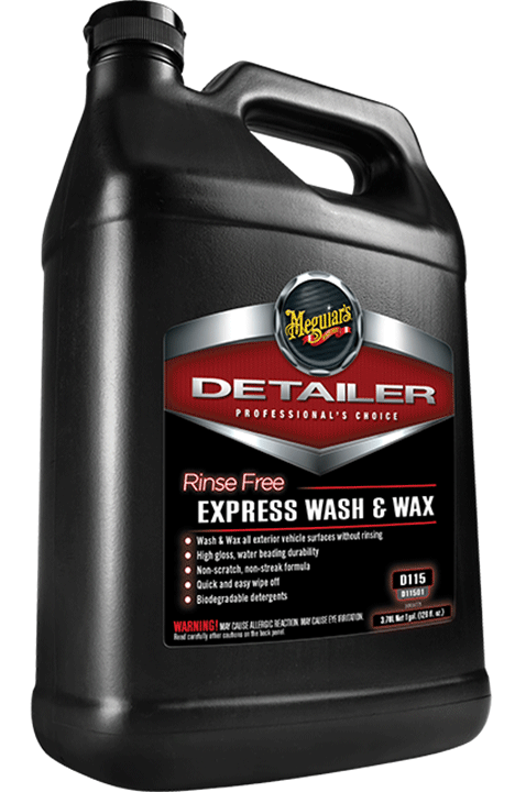 Meguiars D11501 Rinse Free Express Wash Amp Wax 1 Gallon