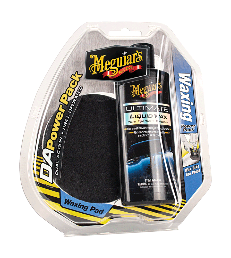 Meguiars G3503 Da Power System Ultimate Wax Pack