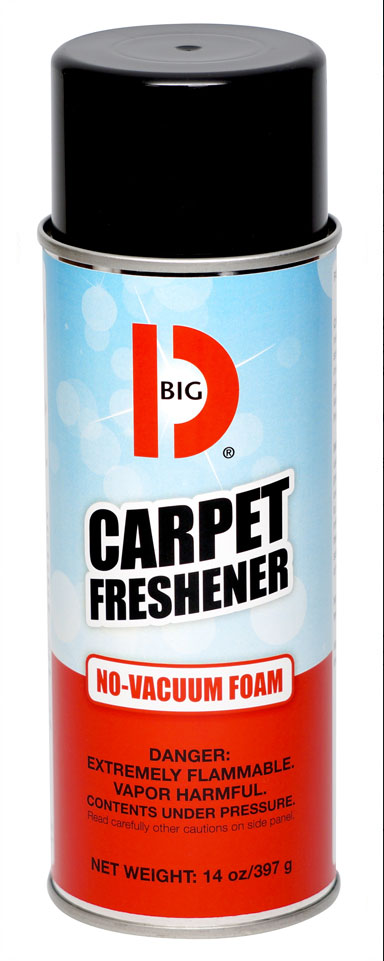Big D 241 Carpet Freshener Case Of 12