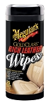 Meguiars G10900 Gold Class Rich Leather Wipes - 25 wipes