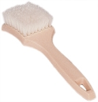 SM Arnold 85-639 White Nylon Whitewall/Sidewall Brush