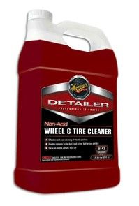 Meguiars D14301 Non-Acid Wheel & Tire Cleaner - 1 Gallon