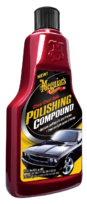 Meguiars G18116 Clear Coat Safe Polishing Compound - 16 oz