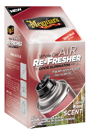 Meguiars G19702 Air Refresher - Spiced Wood - 2.5 oz