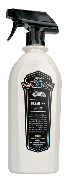 Meguiars MB0322 Mirror Bright Detailing Spray - 22 oz