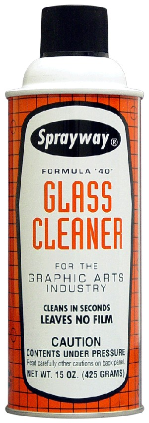 Sprayway 040 Graphic Arts Glass Cleaner 15 oz