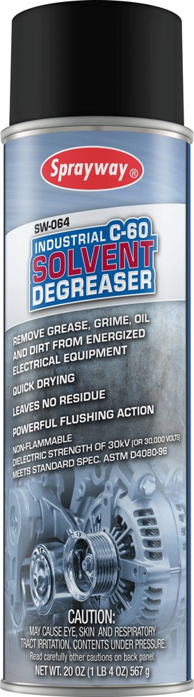 Sprayway 064 C-60 Solvent Degreaser 20 oz