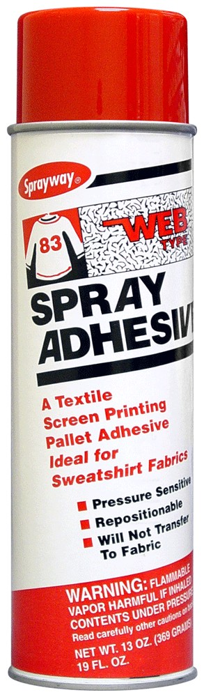 Sprayway 083 Web Type Spray Adhesive 13 oz