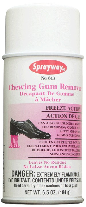 Sprayway 813 Chewing Gum Remover 6.5 oz
