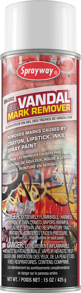 Sprayway 880 Gel Vandalism Mark Remover 15 oz