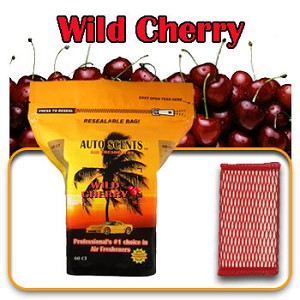 Auto Scents Wild Cherry Scent - 60 Pack