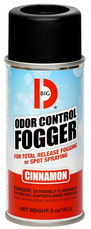 Big D Odor Control Fogger 342 Cinnamon - Case of 12
