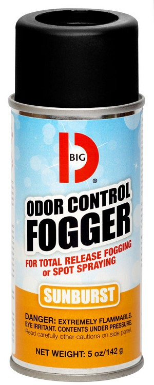 Big D Odor Control Fogger 345 Sunburst - Case of 12