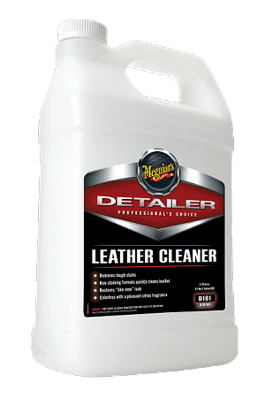 Meguiars D18101 Leather Cleaner - 1 Gallon
