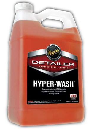 Meguiars D11001 Hyper Wash - 1 Gallon (concentrate)