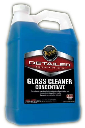 Meguiars D12001 Glass Cleaner Concentrate - 1 Gallon (concentrate)