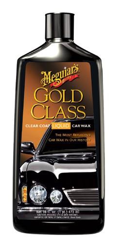Meguiars G7016 Gold Class Clear Coat Car Wax Liquid 16 Oz