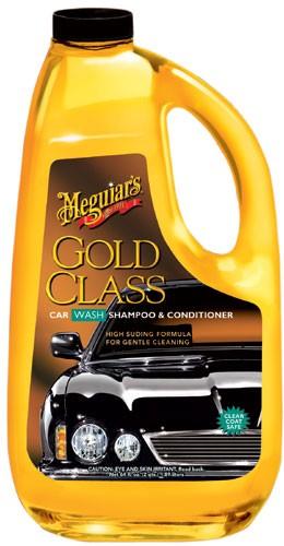 Meguiars G7164 Gold Class Car Wash Shampoo & Conditioner - 64