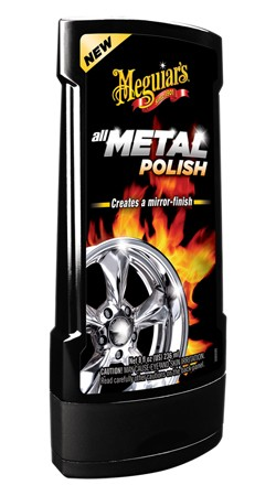 Meguiars G15308 Hot Rims All Metal Polish 8 Oz