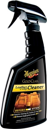 Meguiars G18516 Gold Class Leather & Vinyl Cleaner - 16 oz