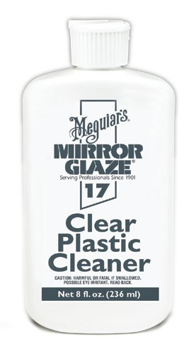 Meguiars M1708 Mirror Glaze Clear Plastic Cleaner - 8 oz