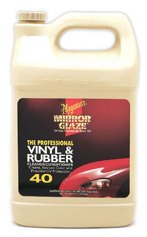 Meguiars M4001 Vinyl & Rubber Cleaner/Conditioner - 1 Gallon
