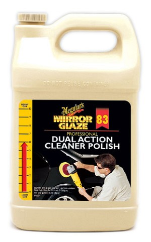 Meguiars M8301 Body Shop Professional Dual Action Cleaner/Polish - 1 Gallon