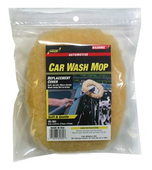 SM Arnold 85-382 Acrylic Car Wash Mop Replacement Head