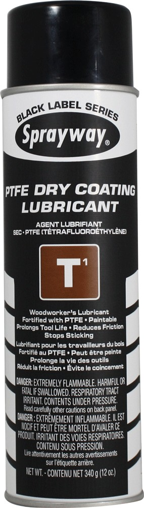 Sprayway 295 T1 PTFE Dry Coating Lubricant & Release Agent 12 oz